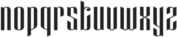 Eveagita Luxury otf (700) Font LOWERCASE