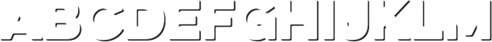 Eveleth Clean Shadow otf (400) Font LOWERCASE