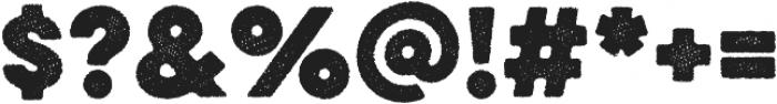 Eveleth Dot Bold otf (700) Font OTHER CHARS
