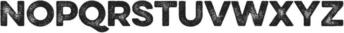 Eveleth Dot Regular otf (400) Font UPPERCASE