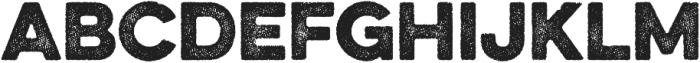 Eveleth Dot Regular otf (400) Font LOWERCASE
