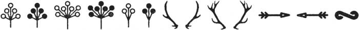 Eveleth Icons otf (400) Font UPPERCASE