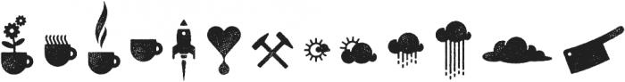 Eveleth Icons otf (400) Font LOWERCASE