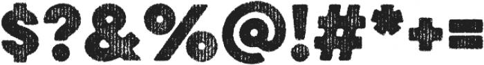 Eveleth Regular otf (400) Font OTHER CHARS