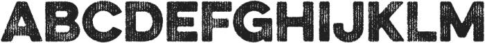 Eveleth Regular otf (400) Font UPPERCASE