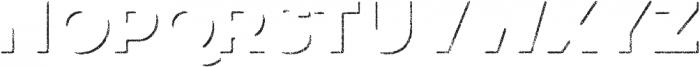 Eveleth Shadow otf (400) Font UPPERCASE