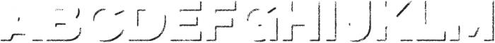 Eveleth Shadow otf (400) Font LOWERCASE