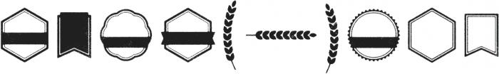 Eveleth Shapes otf (400) Font OTHER CHARS