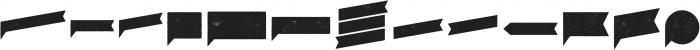 Eveleth Shapes otf (400) Font UPPERCASE