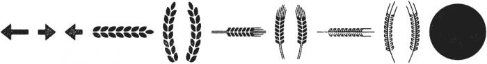 Eveleth Shapes otf (400) Font LOWERCASE