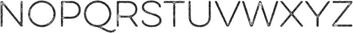 Eveleth Thin otf (100) Font UPPERCASE