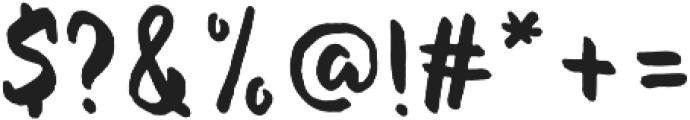 Evenfall Upright otf (400) Font OTHER CHARS