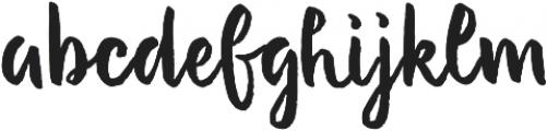 Evenfall Upright otf (400) Font LOWERCASE