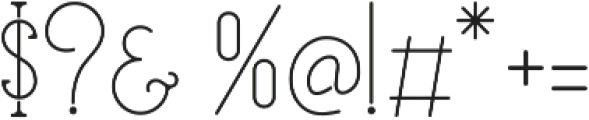EverditeStd ttf (400) Font OTHER CHARS