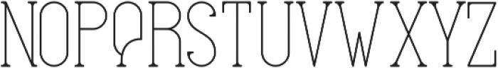 EverditeStd ttf (400) Font UPPERCASE