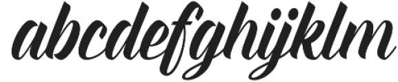 Everglow otf (400) Font LOWERCASE