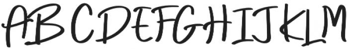 Every Style Regular otf (400) Font UPPERCASE