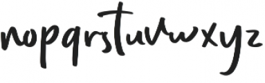 Every Style Regular otf (400) Font LOWERCASE