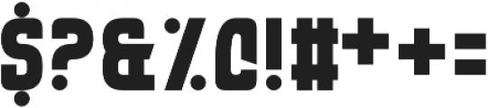 Eviscera otf (400) Font OTHER CHARS