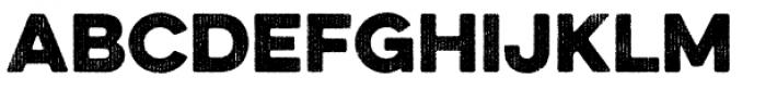 Eveleth Bold Font LOWERCASE