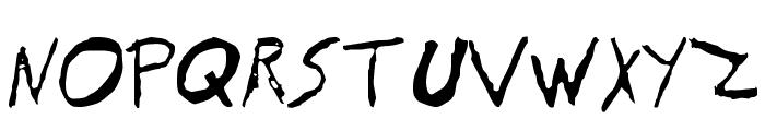EVOL Font UPPERCASE