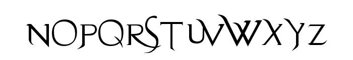 Evanescent Font UPPERCASE