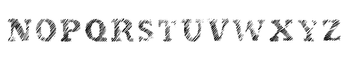 Evanescente Font UPPERCASE