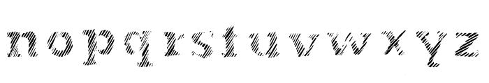 Evanescente Font LOWERCASE