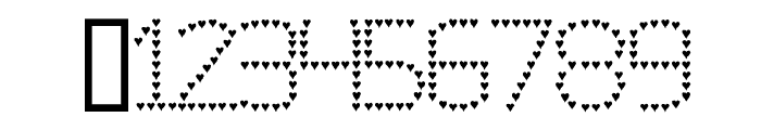 Evelyn's Heart Font OTHER CHARS