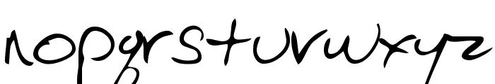 EvelynsHand Regular Font LOWERCASE