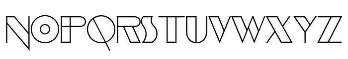 EvensongHollow-Regular Font LOWERCASE