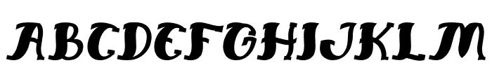Everlasting Song Italic Font UPPERCASE