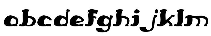 Everlasting Song Italic Font LOWERCASE