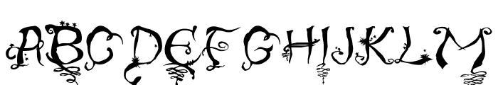 Evernight-Stargazer Font UPPERCASE