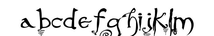Evernight-Stargazer Font LOWERCASE