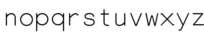 Everson Mono Latin 6 Font LOWERCASE