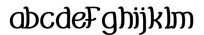 Everybody-Bold Font LOWERCASE