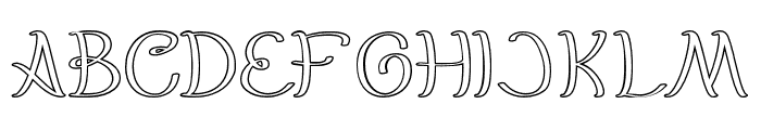 EverybodyHollow Font UPPERCASE