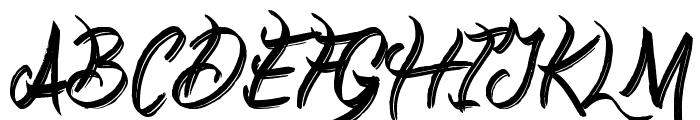 Everyday Mayhem Font UPPERCASE