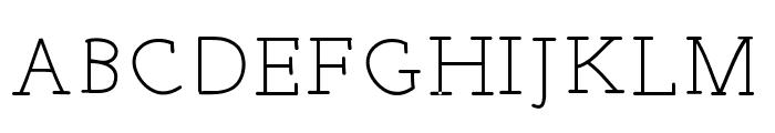 EverydayTypo Font UPPERCASE