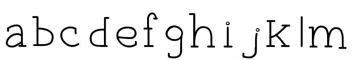 EverydayTypo Font LOWERCASE