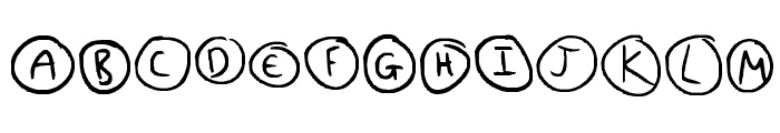 Everything Unique Font UPPERCASE