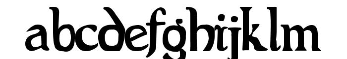 Evil Bible Font LOWERCASE