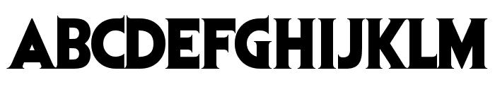 Evil Dead Font LOWERCASE