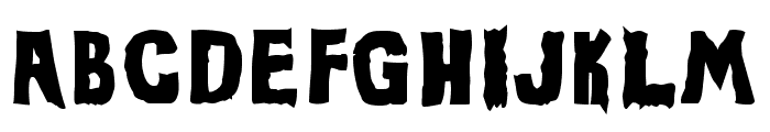 Evil Of Frankenstein UltraBlack Font UPPERCASE