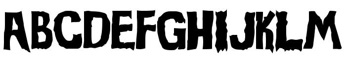Evil Of Frankenstein Font UPPERCASE