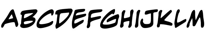 EvilGenius BB Bold Font LOWERCASE