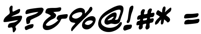 EvilGeniusBB-Bold Font OTHER CHARS
