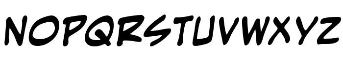 EvilGeniusBB-Bold Font LOWERCASE