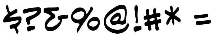 EvilGeniusBB Font OTHER CHARS